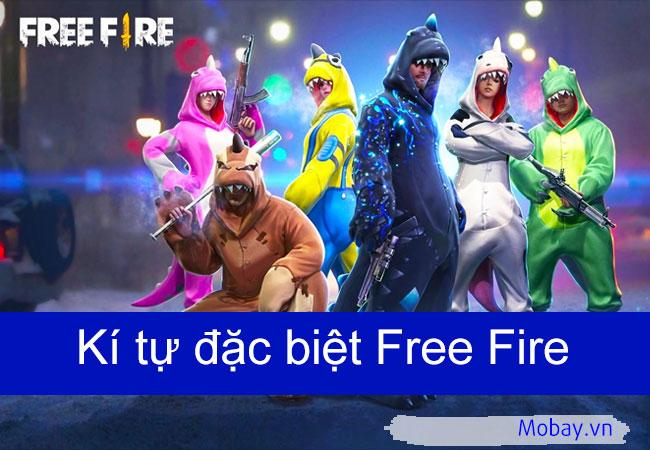 Kí tự đặc biệt Free Fire